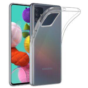 Maskica za Samsung Galaxy A51 prozirna