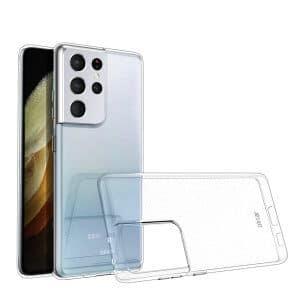 Maskica za Samsung Galaxy S21 Ultra prozirna