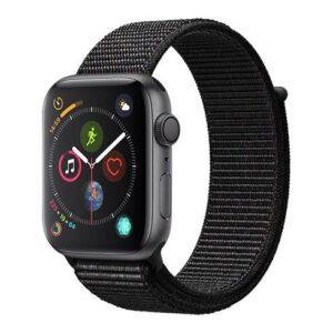 Apple Watch Series 4, 40mm, Black Sport Loop