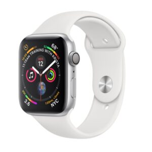 Apple Watch Series 4, 40mm, White Sport Band