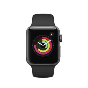 Apple Watch Series 3, 38mm, Black Sport