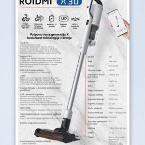 Štapni usisivač Roidmi Cordless Vaccum Cleaner X30
